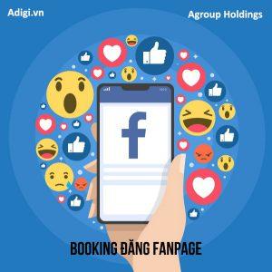 Booking đăng Fanpage