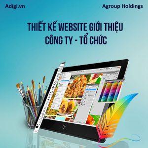 Thiết kế Website công ty, tổ chức