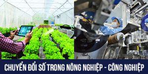 Chuyển đổi số nông nghiệp, công nghiệp