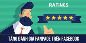 Tăng đánh giá fanpage trên facebook